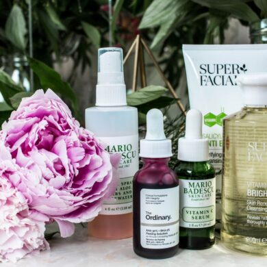 hyaluronic acid with retinol skincare products