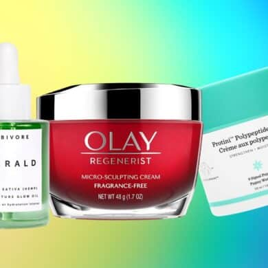 skincare products with Amino Acids, Peptides and Protein