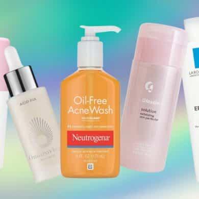 skincare products with Salicylic Acid